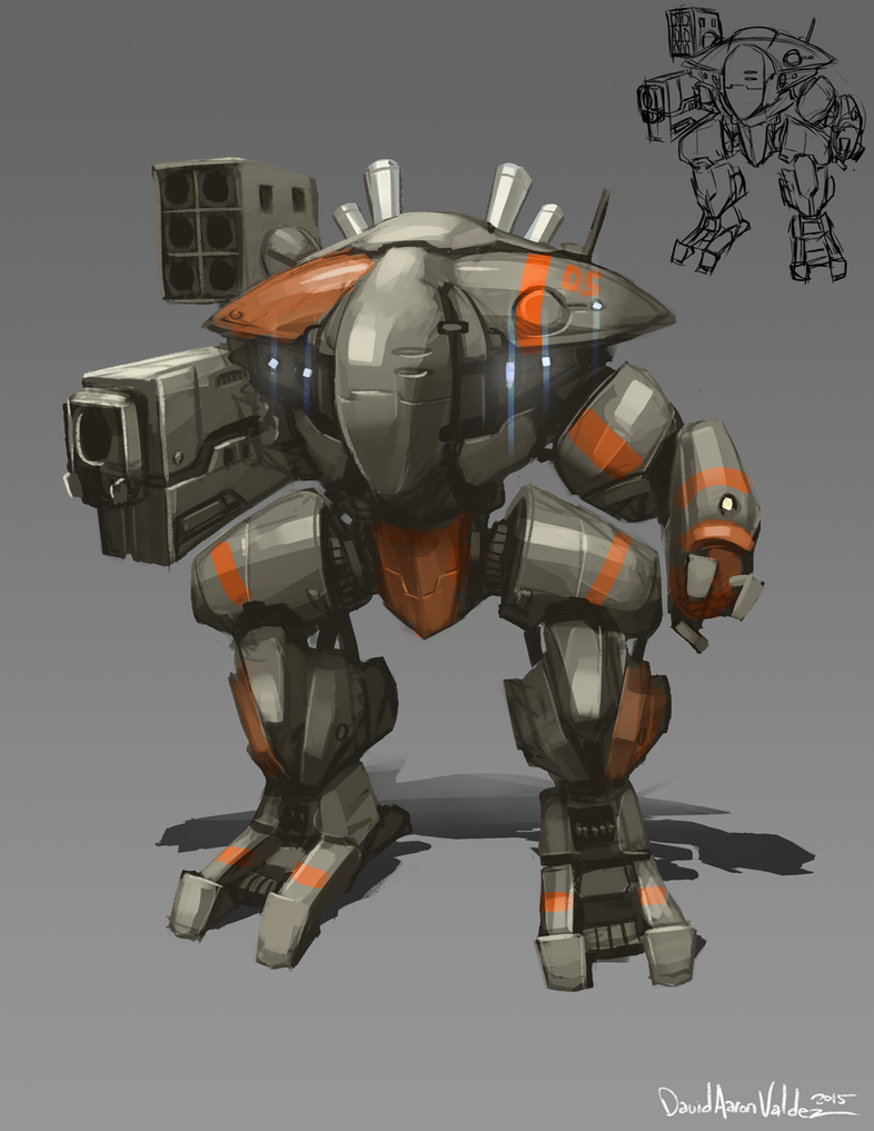 Sleek Mech by DavidValdez