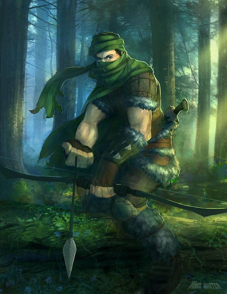 Hunter Zenn Quinn by DavidValdez