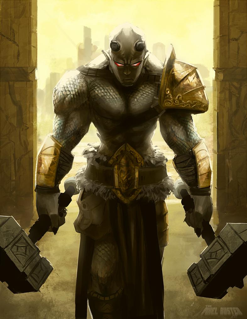 Gladiator Kriv Norexius by DavidValdez