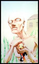 Skinny Man by DavidValdez