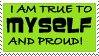 Be Yourself Stamp by Fay-Ray
