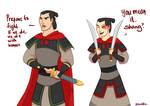 Mulan/ATLA crossover