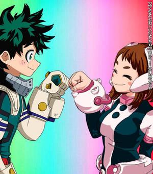 Izuku y Uraraka   Boku no Hero Academia #NoRecuerd