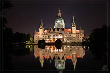 Hannover CityHall I by Akulatraxas