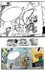 Franquin's Marsupilami - Procreate Ink Brush Test by georgvw