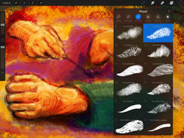 PATTERNOIK - Procreate Natural Media Brush Set by georgvw