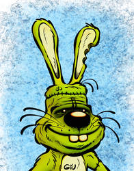 Hasenstein's Monster - Procreate Comic Brush Demo by georgvw