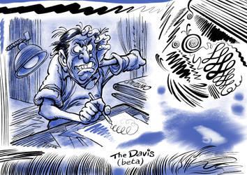 The DAVIS - Procreate Comic Brush Fan Art Demo by georgvw