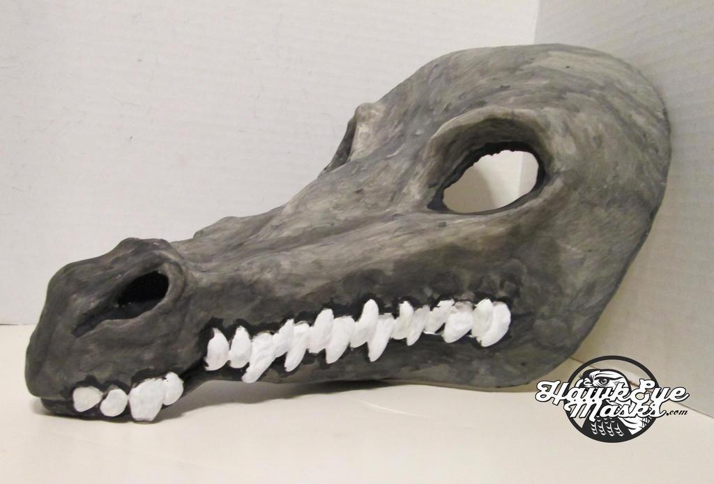 Crocodile mask by JenniferStedmanArt