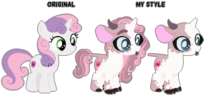 Sweetie Belle Redesign By Peep Dis On Deviantart One third of the greatest trio of fillies ever! sweetie belle redesign by peep dis on