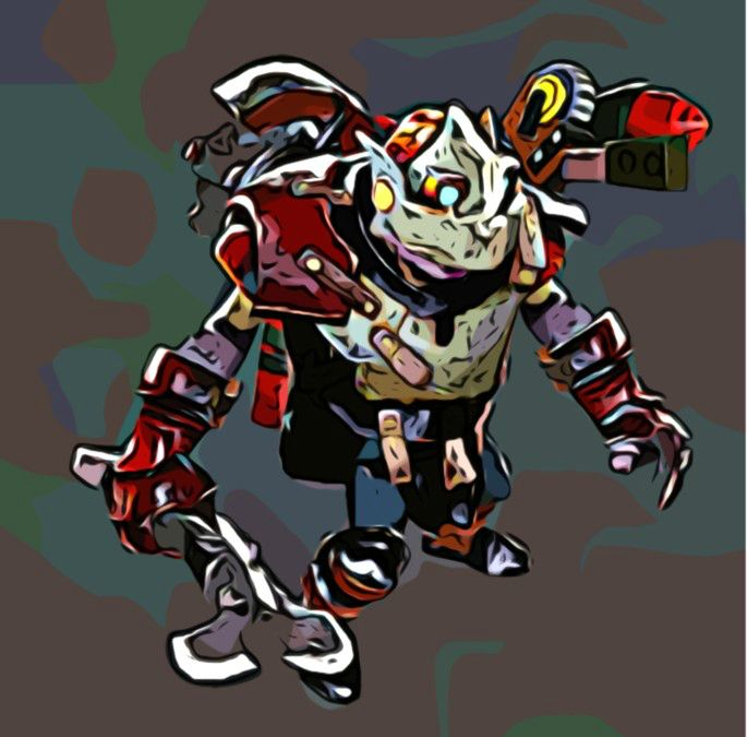 dota 2 rattletrap the clockwerk by bazookatortise on deviantart