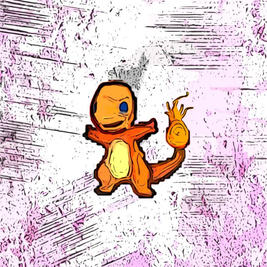 Broken Pixels: Broken Pixels- Charmander By Bazookatortise On DeviantArt