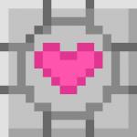Free Avatar Stash: Companion Cube by bazookatortise