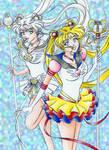 Eternal Sailor Moon and Cosmos
