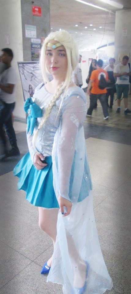 Elsa Frozen Sailor by ViihShirayuki