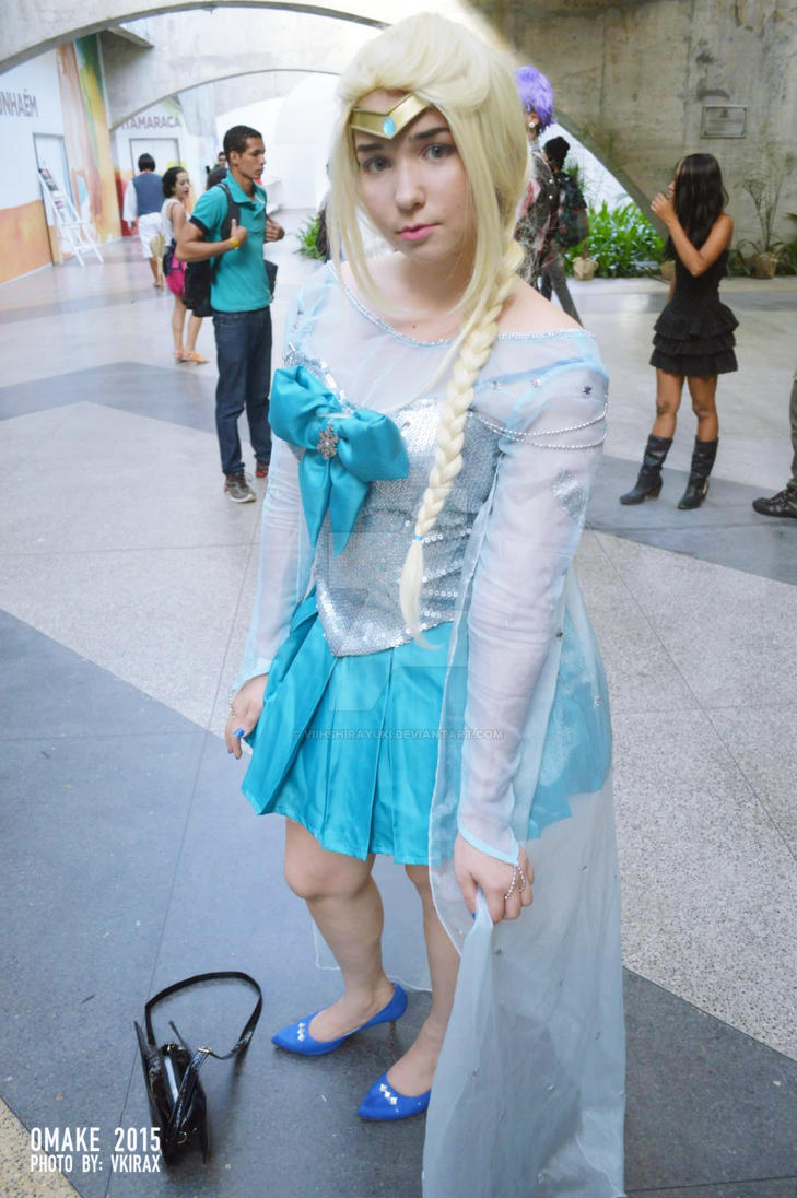 Sailor Elsa MAKE UP! by ViihShirayuki