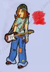 Cartoon Girl Experiment