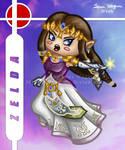 Brawl Chibis - Zelda