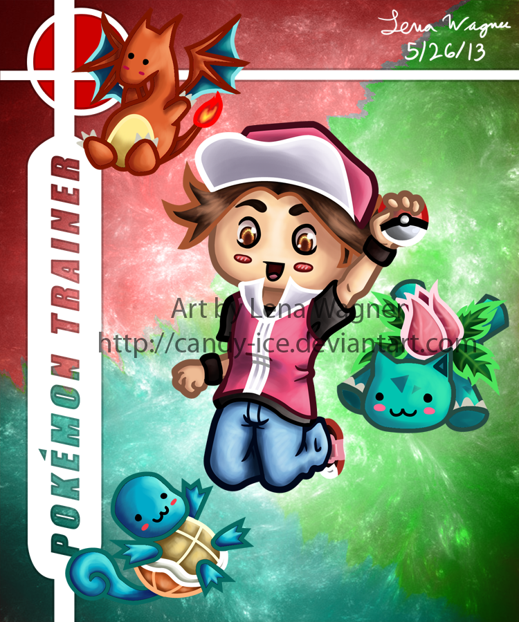 Brawl Chibis - Pokemon Trainer by Candy-Ice