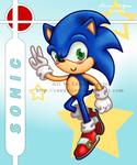 Brawl Chibis - Sonic