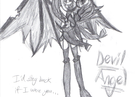 Devil Angel Preview Sketch by Candy-Ice