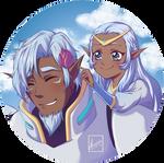 Voltron: Allura and Alfor