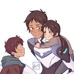 Lance, Nadia and Sylvio