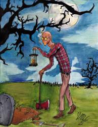 Grave-digger by GoldenYak9753