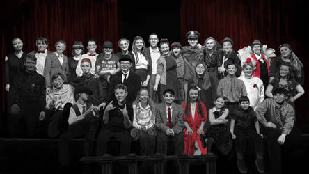 It's A Wonderful Life Stage Play Cast Photo