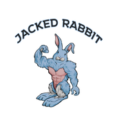 Jacked Rabbit Workout Shirt Design