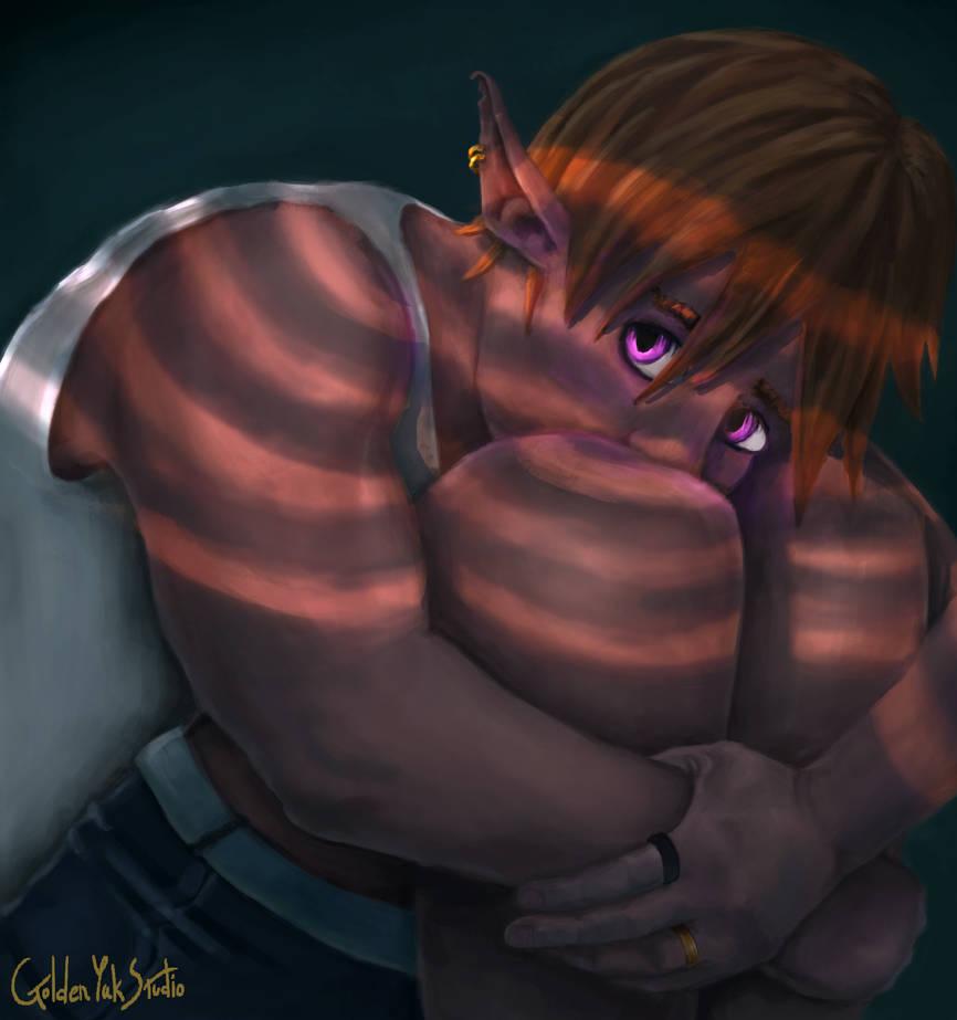 Vampire Elf by GoldenYak9753