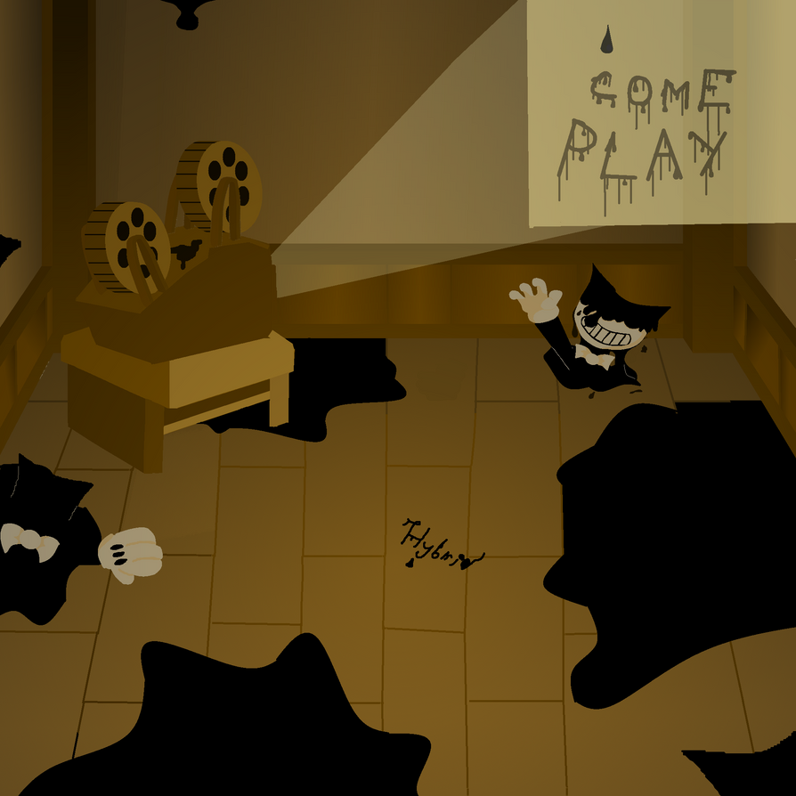 bendy and the ink machine play