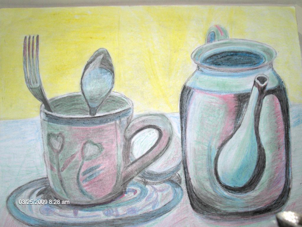 Kitchen Utensils Composition 2 - Tea Stuff by Anisa-Mazaki on DeviantArt