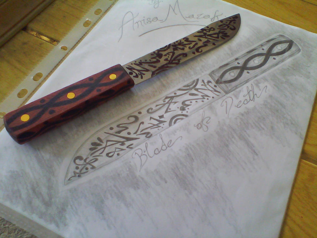 Blade of Death and it's Drawing