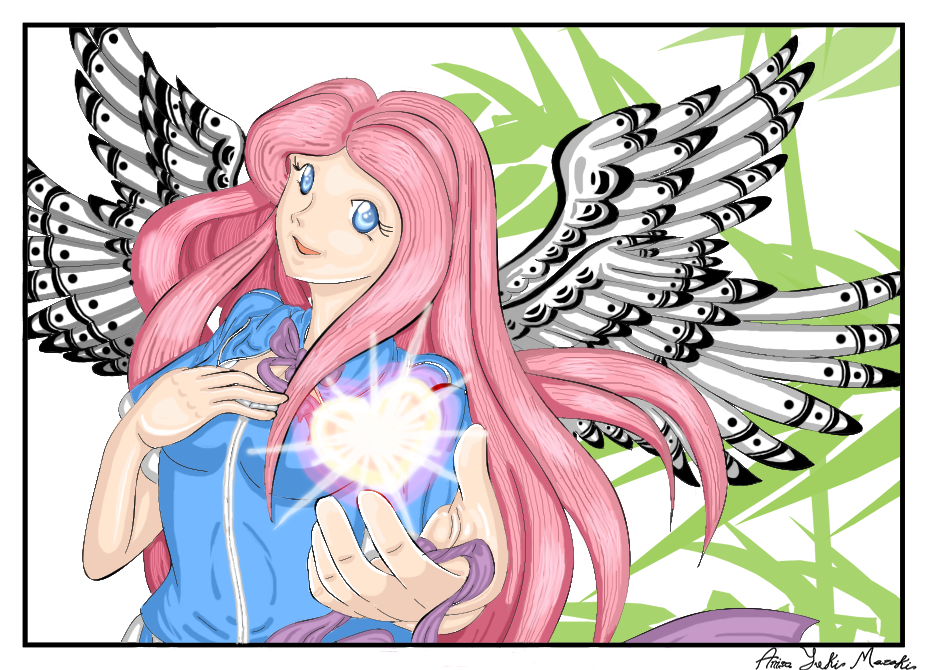 Give The Gift Of Art Contest Entry - ANGEL HEART