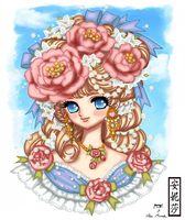 Yumes Youjo Nurie Flower Dream Girl -  Coloured by Anisa-Mazaki