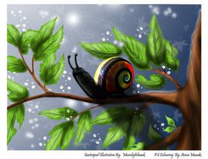 Moonlighthawk's Gastropod - Coloured