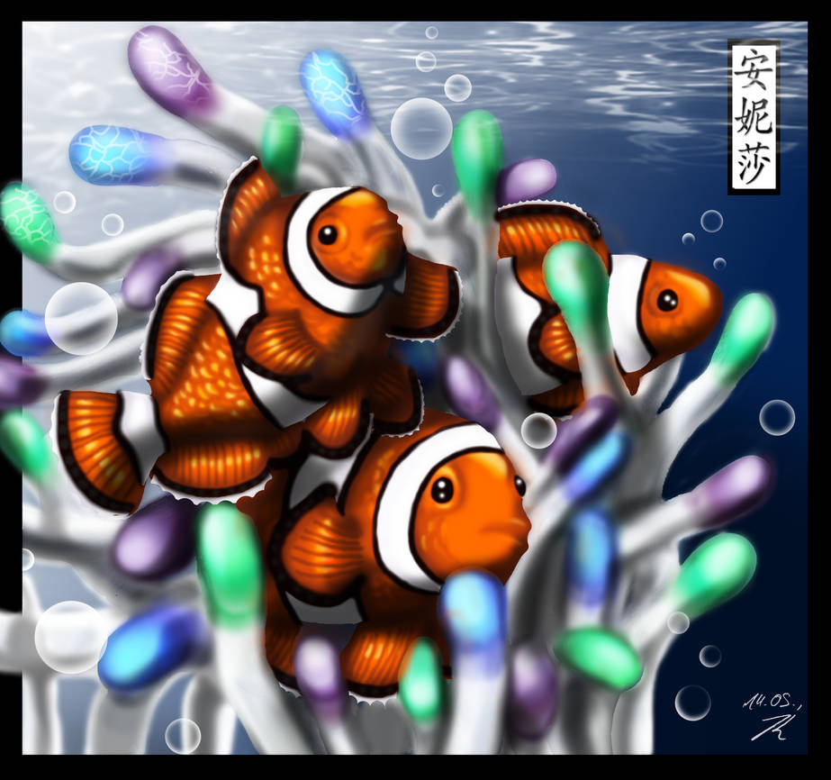 Clownfish by Chayt - Coloured