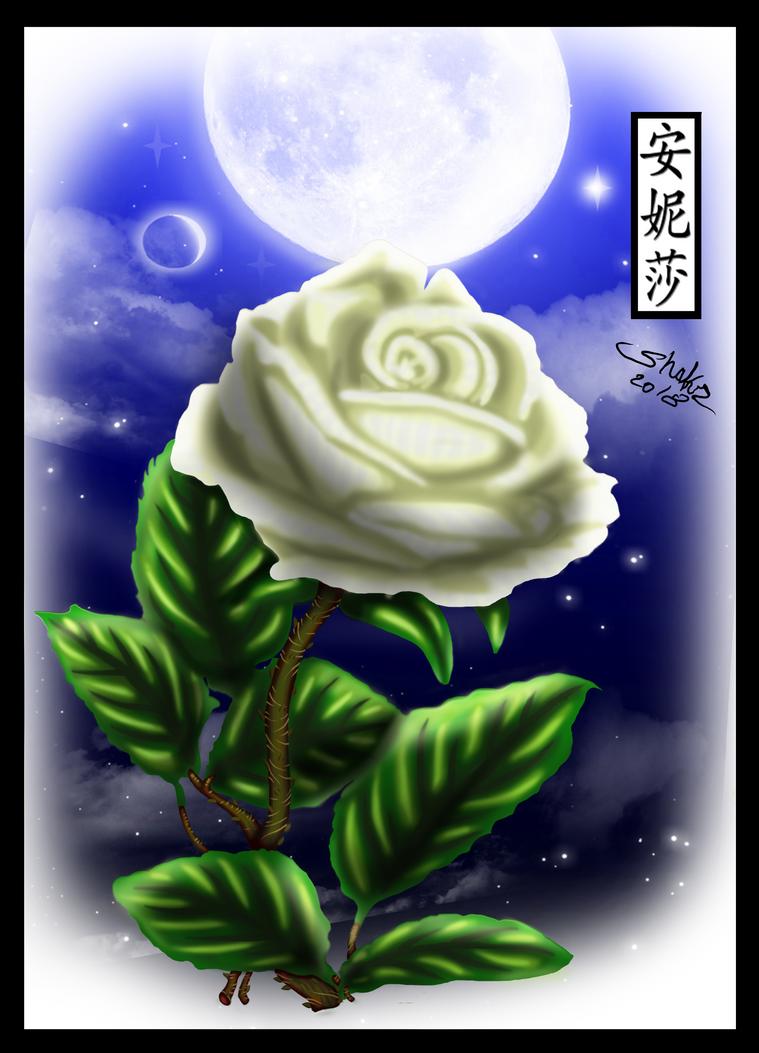 Sir Shakr Arts Rose - Coloured by Anisa-Mazaki