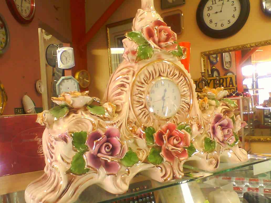 Ornate Floral Clock 2015 Shot 2
