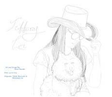 Tiffa Lei Lineart Portrait