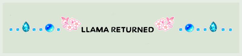 Original Llama Back Reply