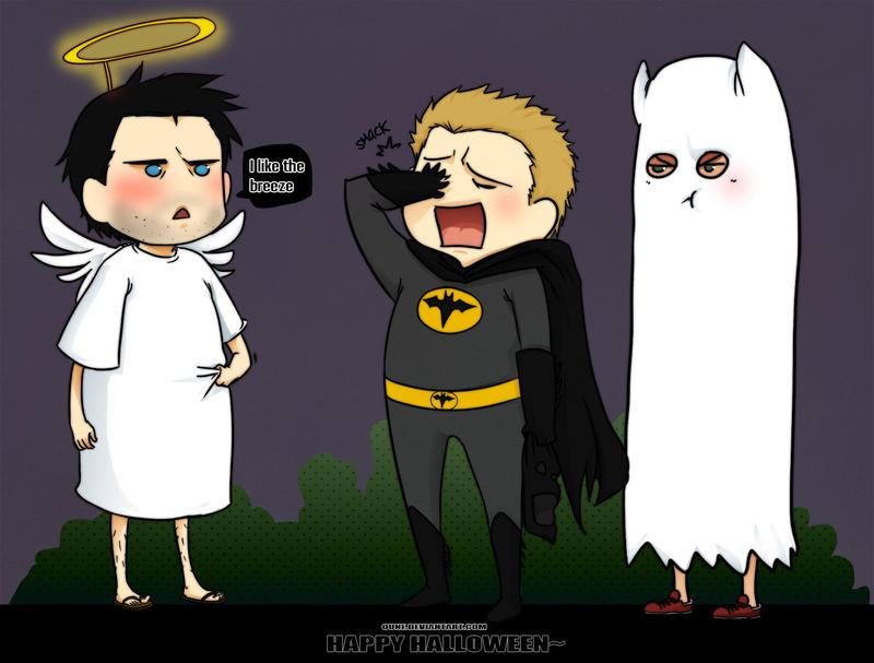 SPN- Happy Halloween by Oune