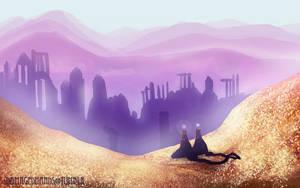 Journey Glitch World by Oune