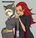 Evil Divas+Art trade+
