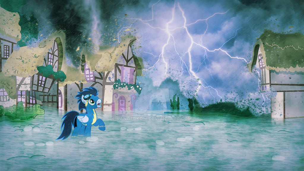 Ponyville: Day after Tomorrow by rangerkom