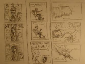 Leviathan Comic Extravaganza by AIEEETHEYGOTFRANK