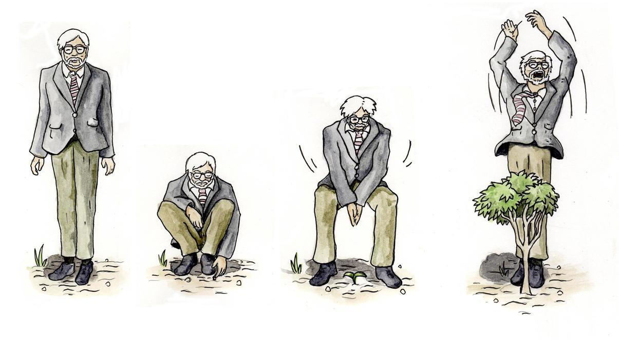 Miyazaki's Advice on Trees by TheStealthNinja13
