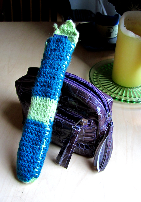 Crocheting Project 2: Fan-Protecting Bag by Daghrgenzeen