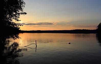 summer sunset by Daghrgenzeen